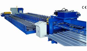 ROOF PANEL COLD ROLL FORMING MACHINE